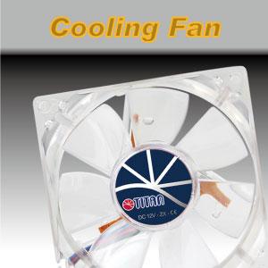 TITAN ofrece a los clientes productos de ventiladores de refrigeración versátiles.