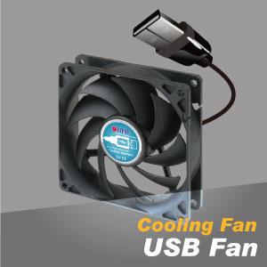 Ventilador de refrigeración USB
