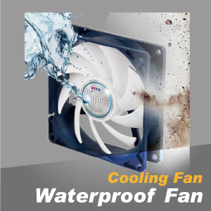 Su Geçirmez ve Toz Geçirmez Soğutma Fanı