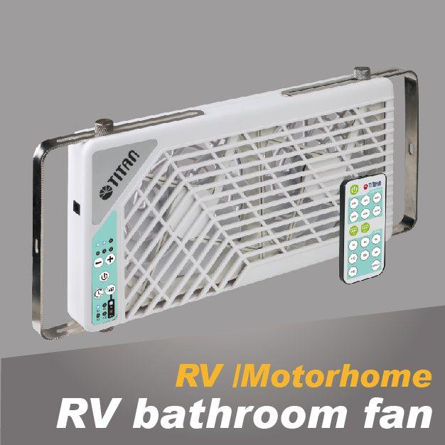 Der RV/WC-Badezimmerventilator