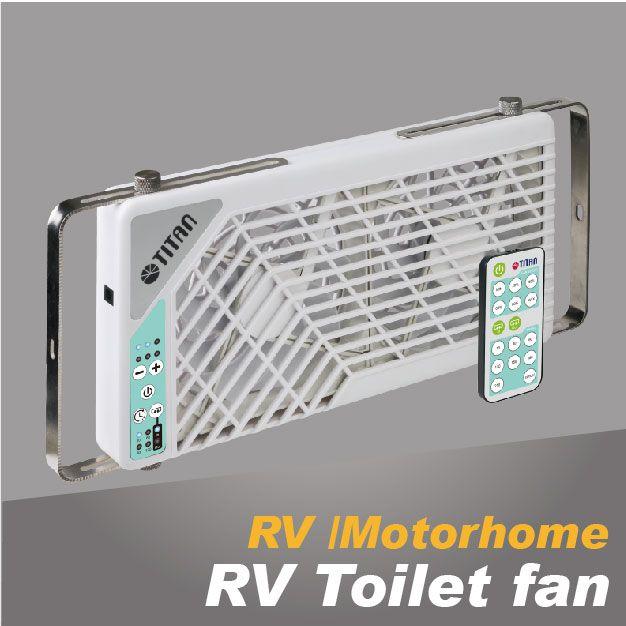 Вентиляция туалета TITAN RV вентиляторы