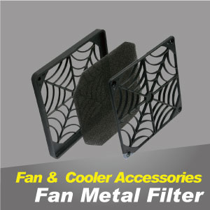 Cooling fan metal filter can prevent dust and protect devices.