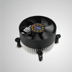 ラジアルアルミニウム冷却フィンとサイレントファンを装備したこのCPUクーラーは集中化できます 風量 効果的に熱放散を強化します。
