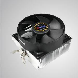 Equipado con aletas de enfriamiento radiales de aluminio y ventilador silencioso de 92 mm con marco redondo, este enfriador de enfriamiento de CPU es capaz de acelerar la transferencia de calor.