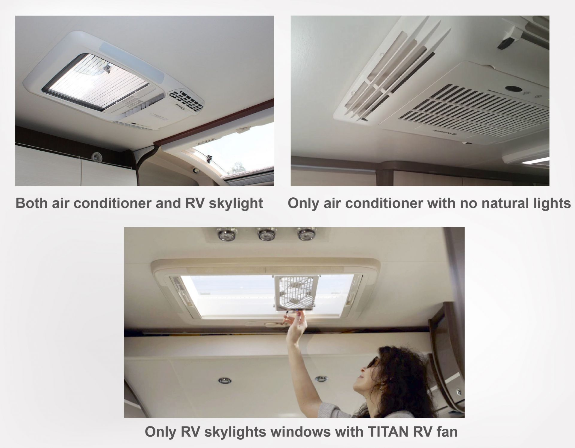 The problem of RV skylights or RV roof window