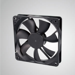 TITAN- DC Cooling Fan with 120mm x 120mm x 25mm fan, provides versatile speed types for user's need.