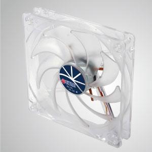 Con marco transparente y ventilador silencioso de 9 palas de 120 mm, que crea un rendimiento de enfriamiento brillante pero de bajo perfil.