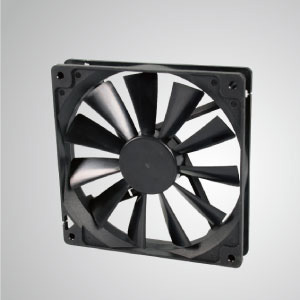 TITAN- DC Cooling Fan with 140mm x 140mm x 25mm fan, provides versatile types for user's need.