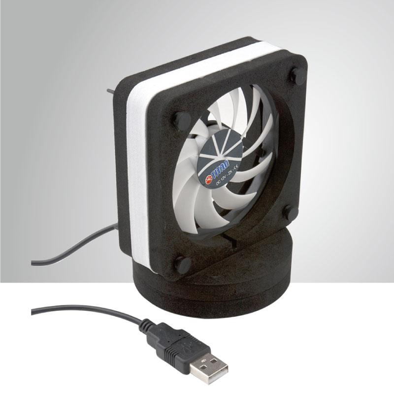 5V/12V DC 80mm Dual Way USB Portable Cooling Desk/ Laptop