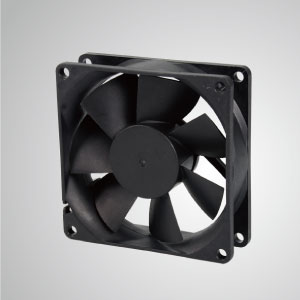 TITAN- DC Cooling Fan with 80mm x 80mm x 25mm fan, provides versatile types for user's need.