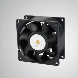 TITAN- DC вентиляторы с 80мм х 80мм х 38мм вентиляторы, предоставляет универсальные типы для потребностей пользователя.