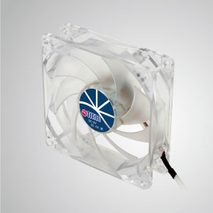 With transparent frame and 92mm silent 9-blades fan, creating a sparkling but low profile cooling performance
