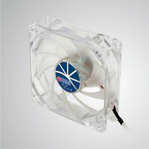 Con marco transparente y ventilador silencioso de 9 palas de 92 mm, que crea un rendimiento de enfriamiento brillante pero de bajo perfil