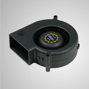 TITAN- DC system blower cooling fan with 75mm fan, provides versatile speed types to meet user's need.