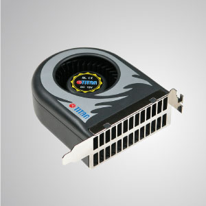 TITAN- DC system blower cooling fan with 111 x 91 x 38mm fan (Double size fan), extend computer system life and reliability.