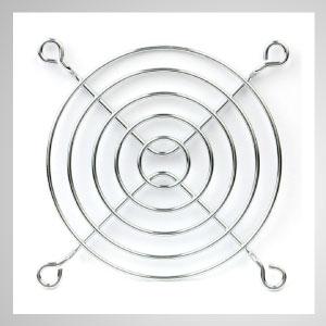 散熱風扇金屬護網,可以防灰塵進入風扇內,還能保護手指不被捲入。