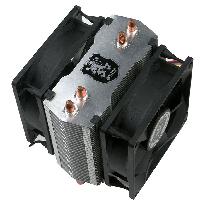 Universal- CPU Air Cooler with 2 DC Heat Pipes and 80mm Fan