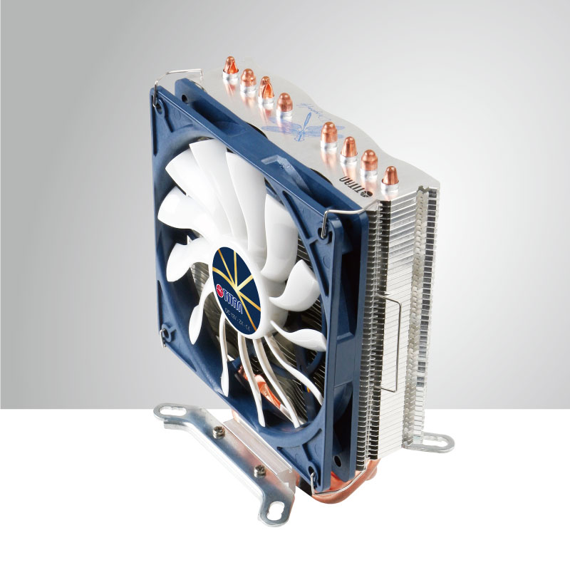 Universal- CPU Air Cooling Cooler with 4 DC Heat Pipes and 120mm Fan