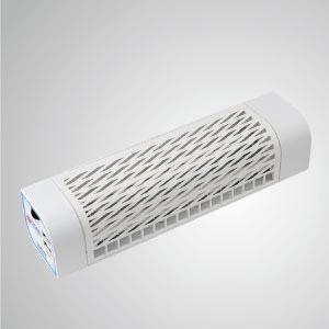El ventilador móvil USB se puede utilizar como ventilador de coche, ventilador de cochecito de bebé, refrigeración exterior con fuerte flujo de aire.