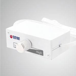 Dieser TTAN-Lüfterdrehzahlregler verfügt über eine einzigartige Funktion: 12V / 24V-Eingangsautomatik, die Unterstützung für verschiedene Verwendungszwecke und Schutz vor Kurzschluss- und Überlastungsproblemen bietet.