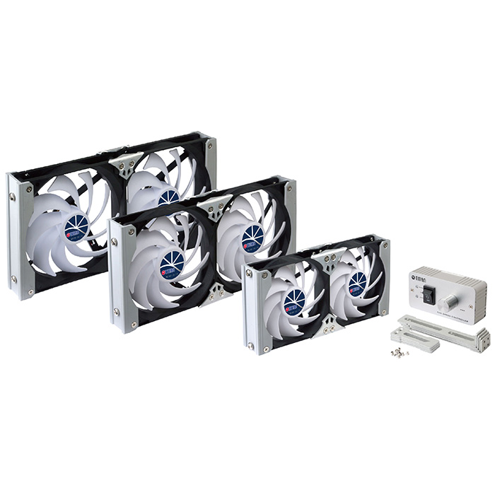12V DC Multi-Puropse Rack Mount Ventilation Cooling Refrigerator Fan