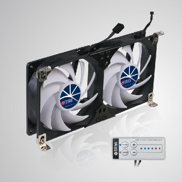 RV fridge fan for ventilation grille
