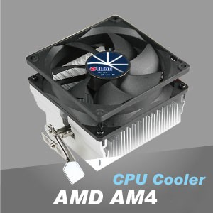 AMD AM4 CPU散熱器 - TITAN專業散熱研發,高效率鋁散熱片設計,透過鋁絕佳導熱特性,創造求優異CPU散熱效能。