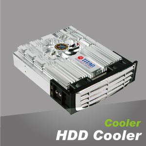 HDD Cooler - HDD cooler features easy installation, unique fashion design, and aluminum material for better heat dissipation.
