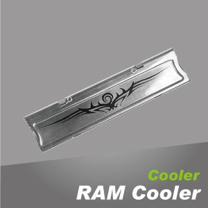 記憶體散熱器 - 電腦記憶體散熱器,以高效率鋁散熱片設計,強化散熱效能加快傳導速率。