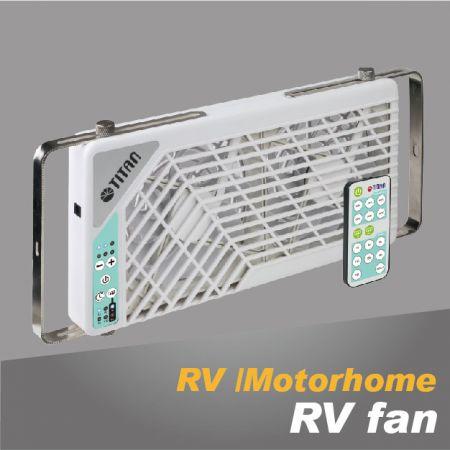 Ventilador de enfriamiento RV - Ventilador montado en bricolaje que acampa para autocaravana, furgoneta de camping, RV