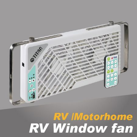 RV Window Fan - RV window cooling fan