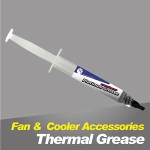 Grasa térmica - Grasa térmica TITAN, puede mejorar la disipación de calor de la CPU o VGA, proporcionando un gran rendimiento de refrigeración.