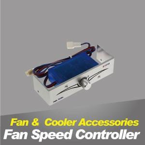 Controlador de velocidad del ventilador - El controlador de velocidad del ventilador de enfriamiento TITAN puede regular la velocidad y reducir el ruido.