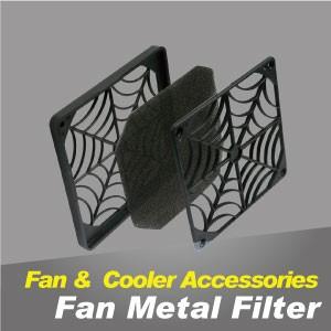 Filtro de ventilador / rejillas para protección de dedos - El filtro de metal del ventilador de enfriamiento puede prevenir el polvo y proteger los dispositivos.