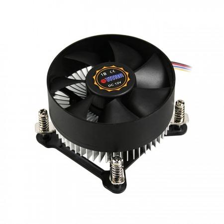 集中化のためのラジアル冷却フィンの設計 風量 熱放散を高めるための循環。