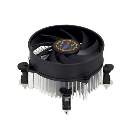 Конструкция радиальных ребер охлаждения для централизации воздушного потока и циркуляции для улучшения рассеивание тепла