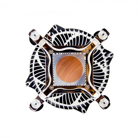 Verbesserte 30-mm-Basis aus reinem Kupfer zur Beschleunigung der Wärmeleitfähigkeit