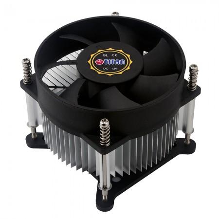 تصميم زعانف التبريد الشعاعي لمركزية تدفق الهواء والدوران لتعزيز تبديد الحرارة