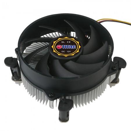 Diseño de aletas de enfriamiento radial para centralizar el flujo de aire y la circulación para mejorar la disipación de calor.