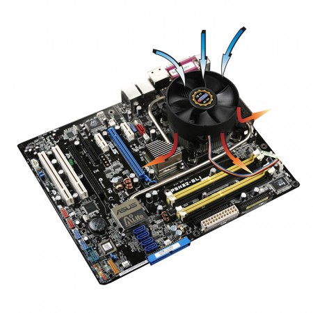 Compatible with Intel LGA 775 platform.