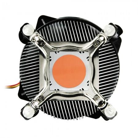 Verbesserte 30-mm-Basis aus reinem Kupfer zur Beschleunigung der Wärmeleitfähigkeit: DC-775K925Z / R / CU30 und DC-775K925Z / RPW / CU30