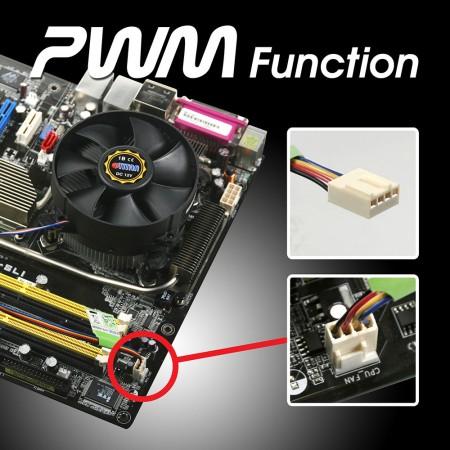 Kompatibel mit der Intel LGA 755 Plattform