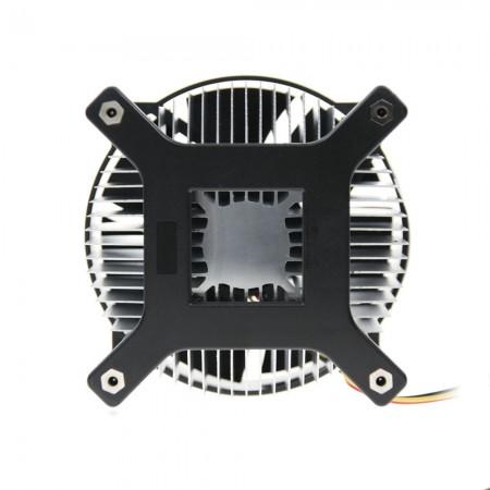 Stärken Sie den hinteren Halter des CPU-Kühlers und verhindern Sie, dass sich das Motherboard verformt