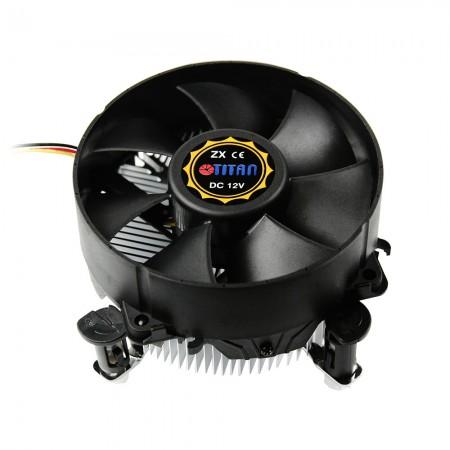 Ausgestattet mit radialen Aluminium-Kühlrippen und einem 90-mm-Riesen-Lüfter kann dieser CPU-Kühler die Wärmeübertragung beschleunigen und die Wärmeableitung verbessern
