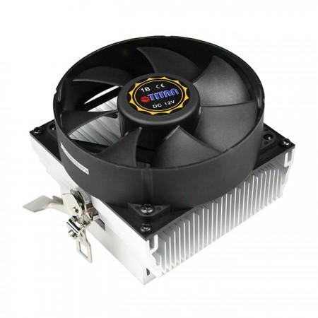 Diseño de aletas de enfriamiento radial para centralizar el flujo de aire y la circulación para mejorar el disipador térmico.