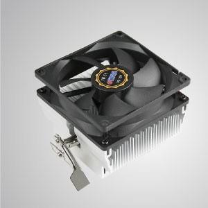AMD-CPU-Luftkühler mit 92-mm-Lüfter mit quadratischem Rahmen und Aluminium-Kühlrippen /TDP 104W