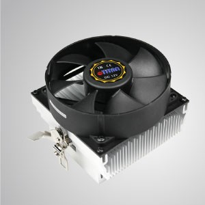 AMD- CPU Air Cooler with 92mm Cooling Fan with Round Frames and Aluminum Cooling Fins/ TDP104- 110W
