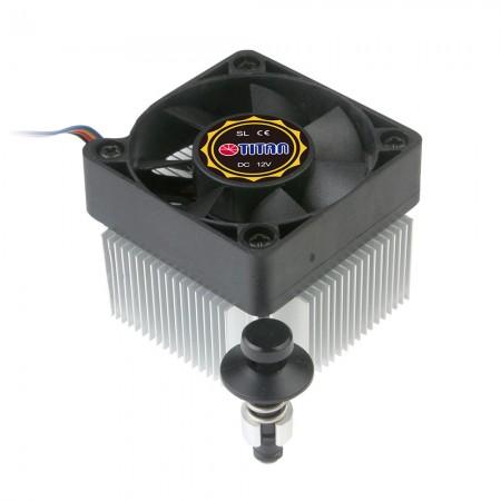 Dieser CPU-Kühler ist mit hochwertigen Aluminium-Kühlrippen und einem extrem rahmenlosen Lüfter (50 mm) ausgestattet und kann die Wärmesenke erheblich verbessern.