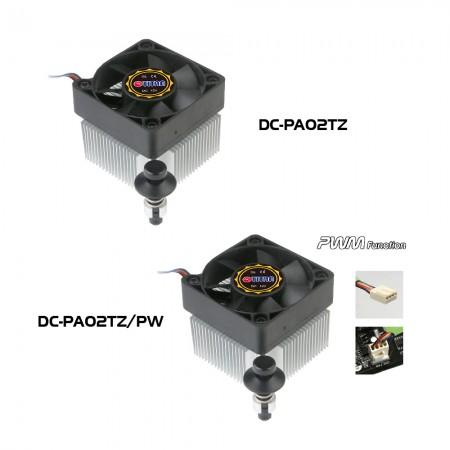 Abbildung des CPU-Kühlermodells der DC-PA02TZ-Serie