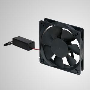 Ventilador silencioso de refrigeración de 110-270 V EC con función de RPM para un ahorro de energía del 80% - Este ventilador de refrigeración EC ofrece ahorro de energía, mayor control de velocidad del ventilador y ventajas combinadas de CA con CC.